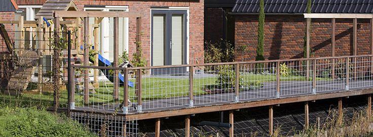 Hek aan de waterkant - Hoveniersbedrijf Martijn Vos