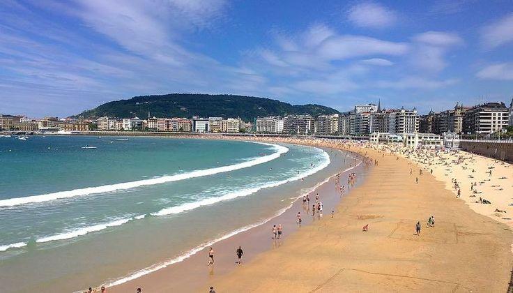 Trip Advisor Best Beaches in the World 2017 | # 6 Playa de la concha, San Sebastián-Donastia, Spain  | ñoñosti (230432384)