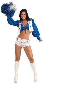 Dallas Cowboy Cheerleader Costume - Womens Costumes
