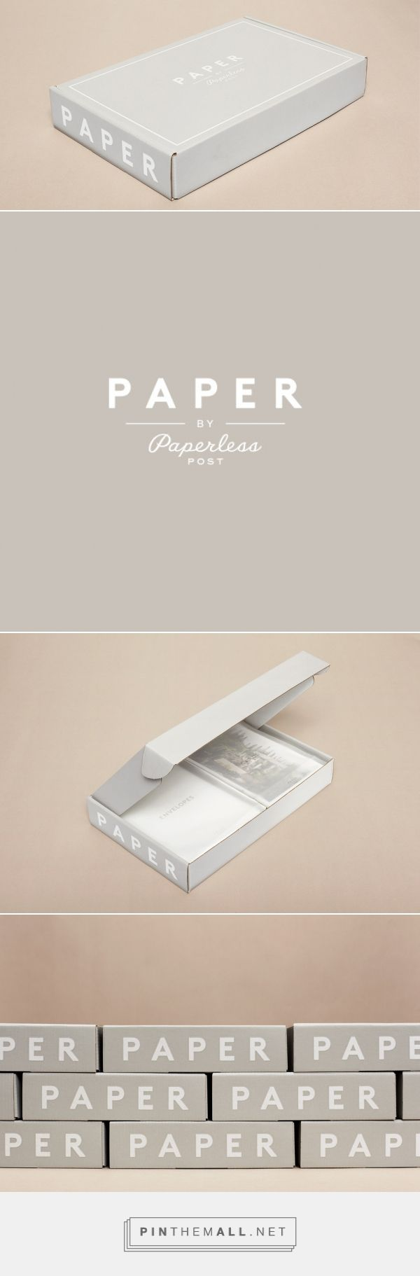 Paperless Post — The Dieline - Branding & Packaging Design - created via https://pinthemall.net