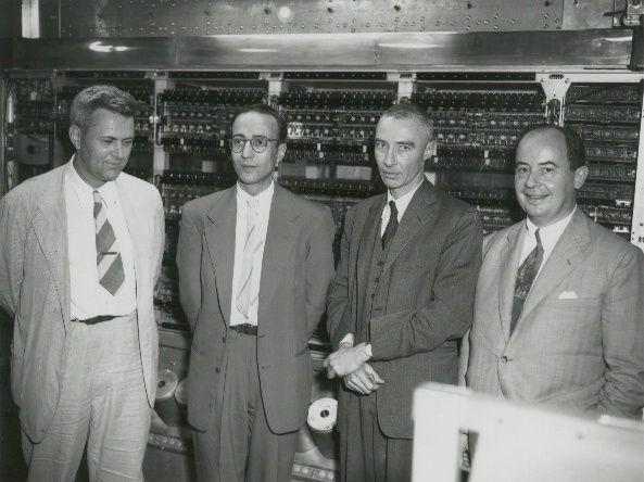 Dr. John von Neumann, camera right