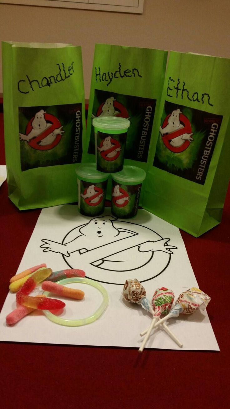 Ghostbusters party ideas                                                                                                                                                                                 More