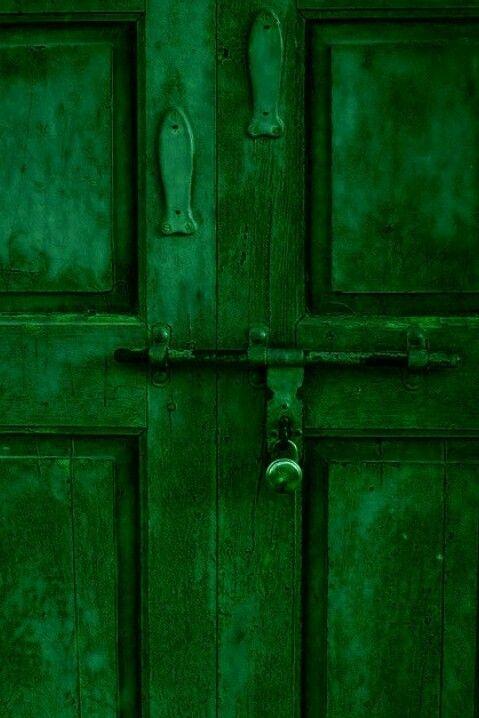 green door :)