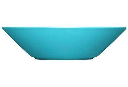 Iittala Teema -syvä lautanen 21 cm, turkoosi - Prisma verkkokauppa (12.50kpl)