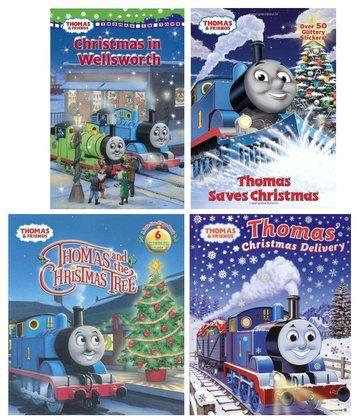 Thomas & Friends Christmas Book Bundle