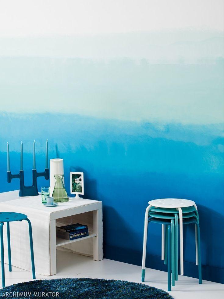 <p>Artystyczne malowanie ścian jest bardzo modne. Cieniowanie ścian, polegające na stopniowej zmianie koloru, wymaga dużo pracy, ale za to efekt jest oszałamiający. Zobacz krok po kroku, jak techniką ombre dekoracyjnie pomalować ściany w pasy.</p>