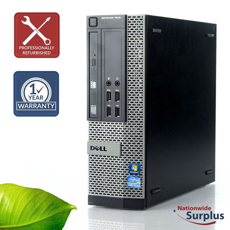 Custom Dell Optiplex 7010 SFF Intel Core i5-3470 Computer Business Desktop PC