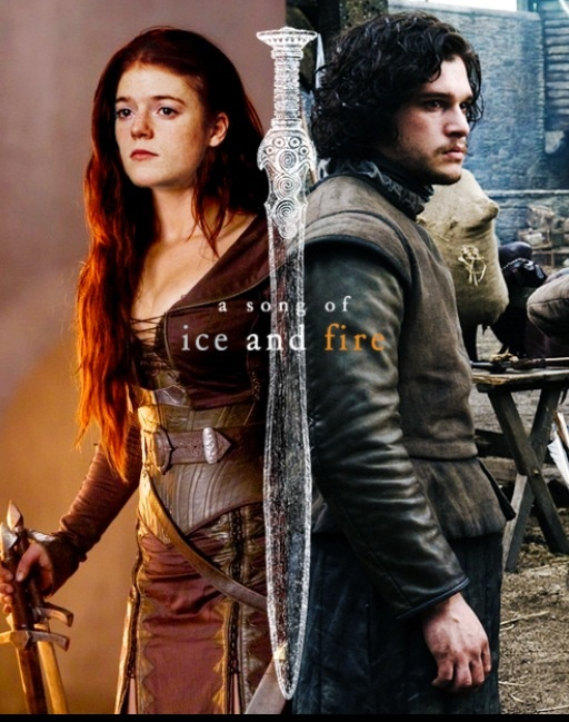 Game of Thrones - Ygritte & Jon Snow