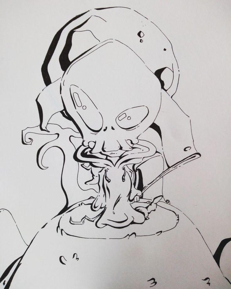 #skull #ilustration #ilustracion #esqueleto #dibujo #draw