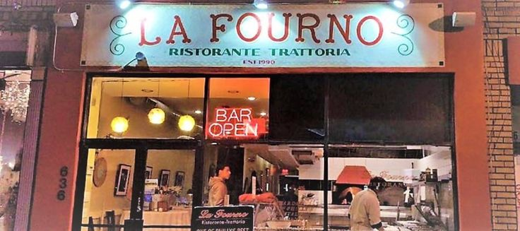 La Fourno Ristorante Trattoria BYOB (Photo: Facebook)  La Fourno Ristorante Trattoria  Along with an extensive wine list and bring-your-own-bottle (BYOB) nights every Wednesday and Friday, this Italian restaurant dishes out mussels and shrimp scampi, along with more casual eats. 636 South Street, (215) 627-9000, lafourno.com