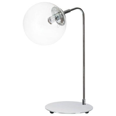 Davis Table Lamp  Chrome