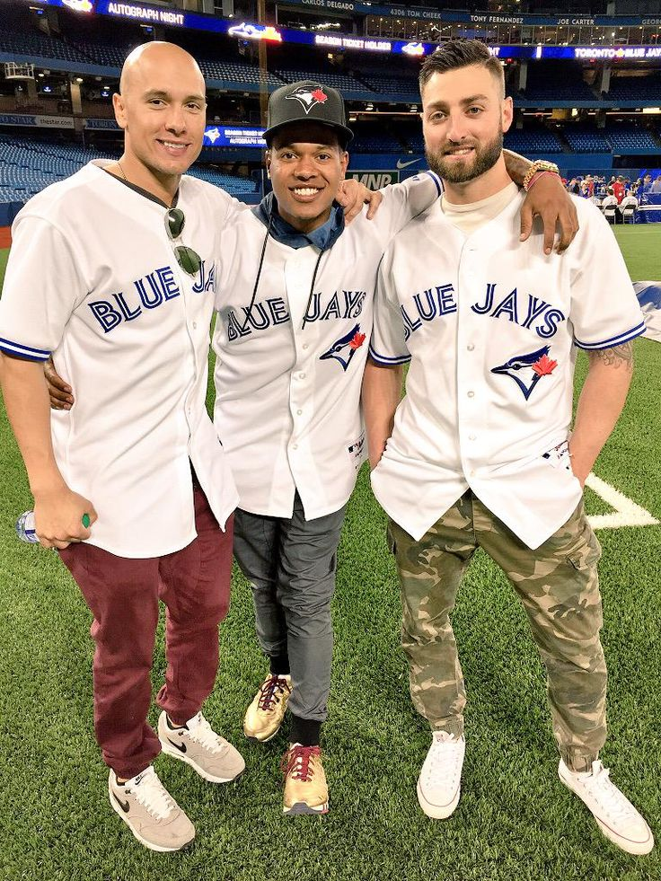 Ryan Goins, Marcus Stroman, Kevin Pillar