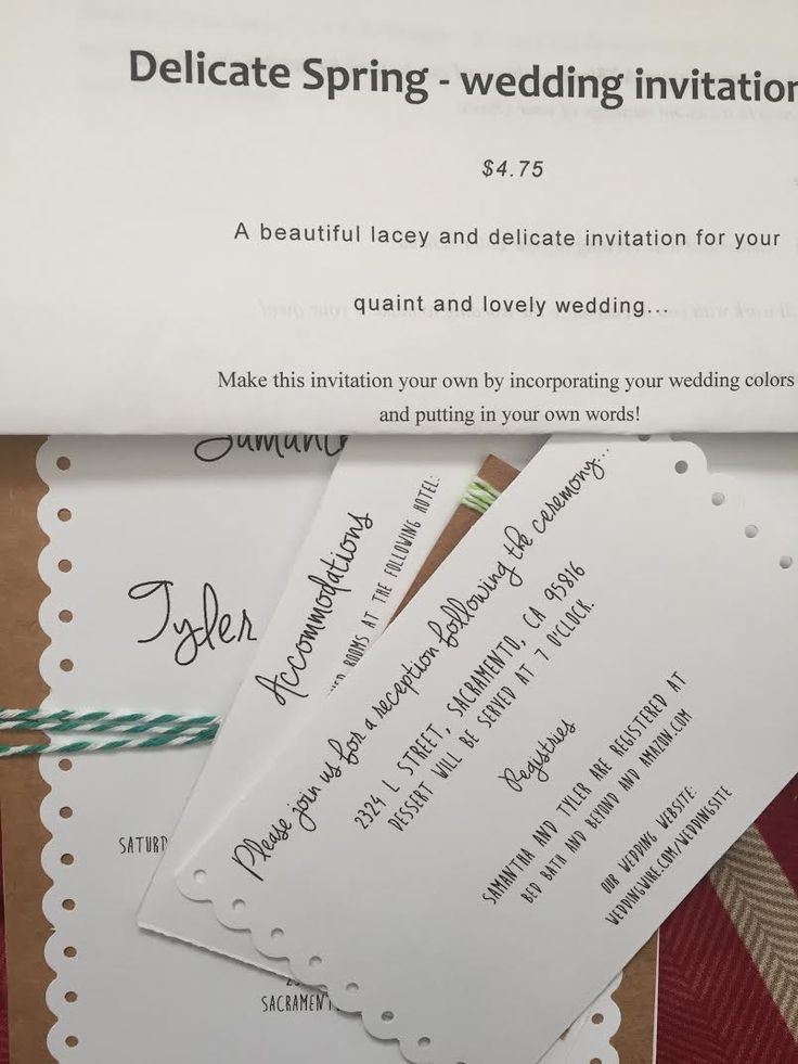 Best 25+ Accommodations card ideas on Pinterest Wedding - how to make invitations on word