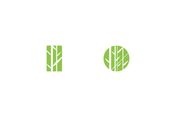 Bamboo restaurant logo by anton.akhmatov on Creative Market