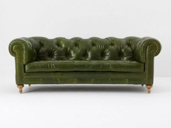 Find this Pin and more on Steampunk Study/Office: a Future Shopping List. I  love this Atelier Chesterfield, Bottle Green Leather Sofa ... - Best 25+ Green Leather Sofa Ideas On Pinterest Green Leather