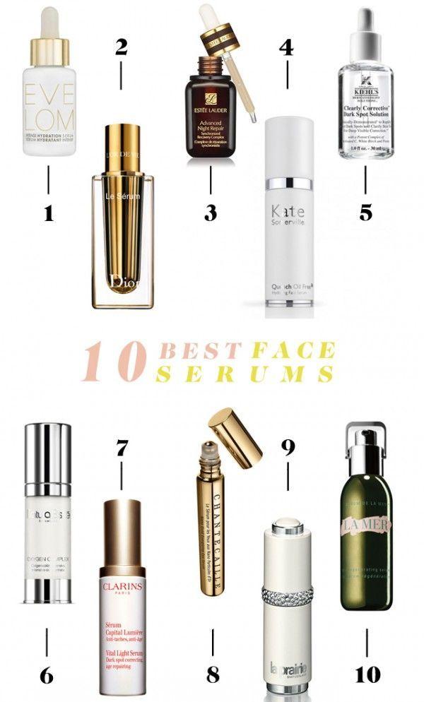 10 Best Face Serums   #Face #Serums #glitterguide