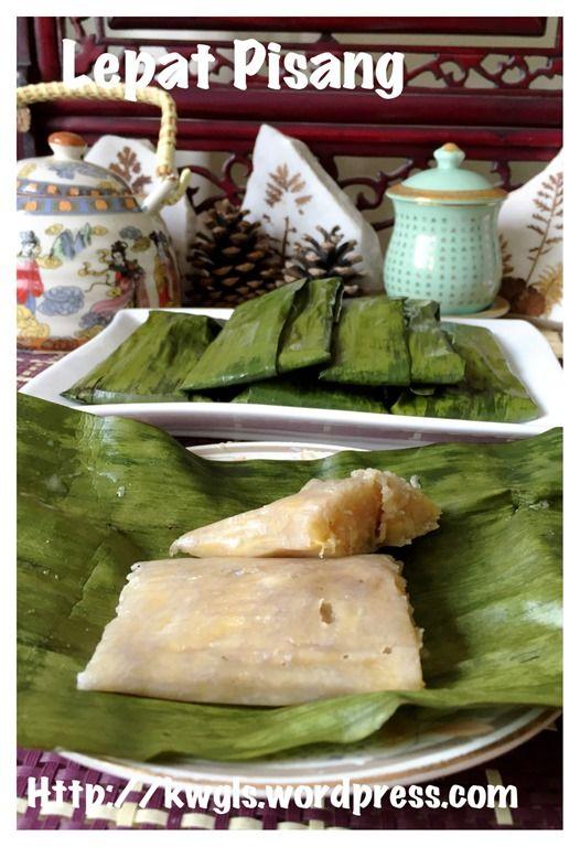 Lepat Pisang (蒸香蕉糕)#guaishushu #kenneth_goh   #kuih_lepat_pisang