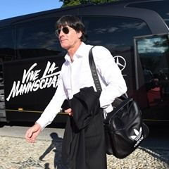 German national football team arrives in Switzerland for training ahead of the Euros