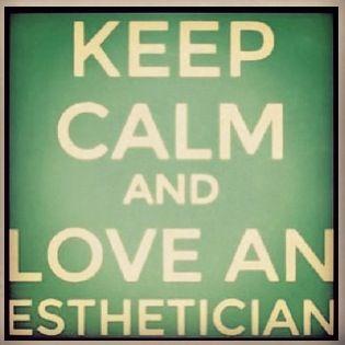 #esthetician #keepcalmandloveyoursugarista