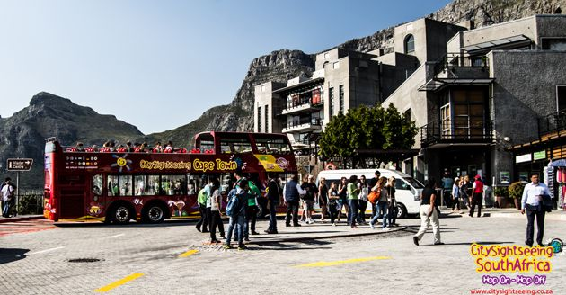 Table Mountain Cableway is a very popular spot for both tourists and locals.  http://www.citysightseeing.co.za/table-mountain-cape-town