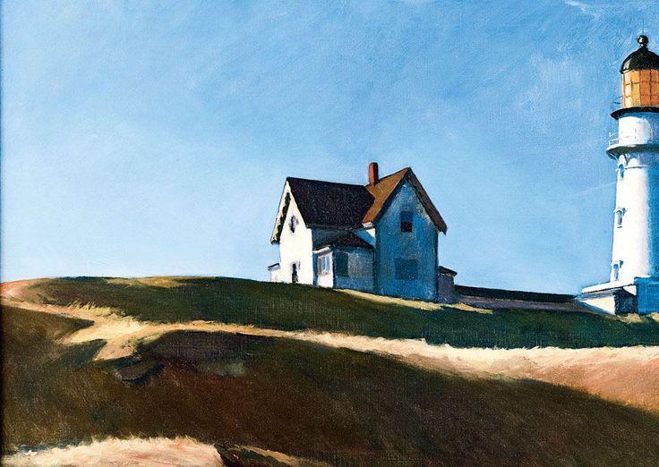 edward hopper | Edward Hopper (Ill. Lighthouse Hill, 1927). Rédaction avec Maison ...
