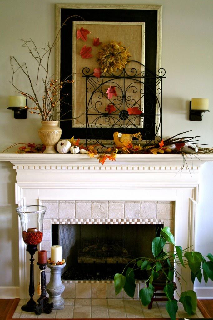 Fall Mantel 127 best Fireplace Mantel Decor