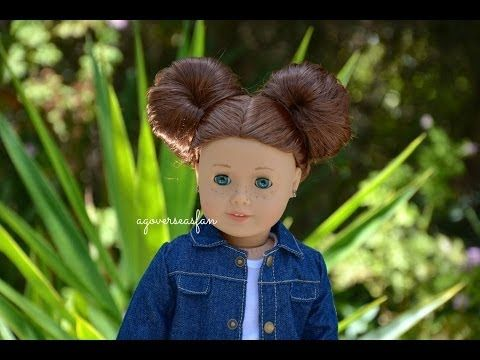 American Girl Doll Hairstyles ~ Saige 2013 ~ - YouTube