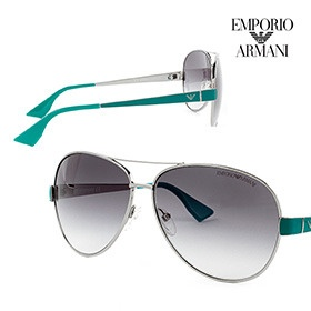 f414029f174 Emporio Armani Aviator Unisex Sunglasses