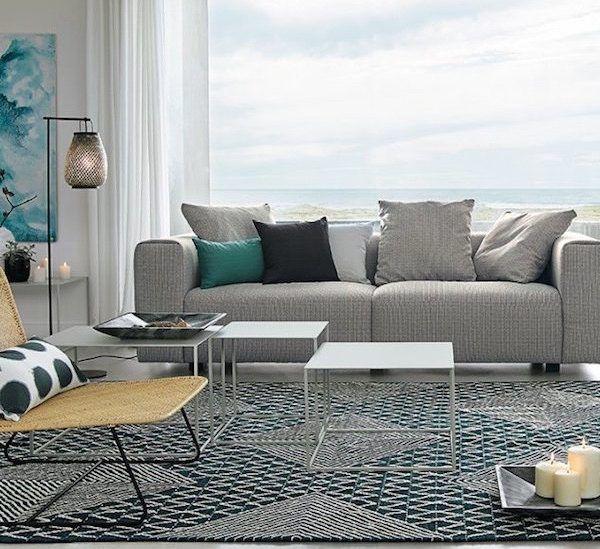 17 meilleures id es propos de canap s gris sur pinterest for Decoration canape gris