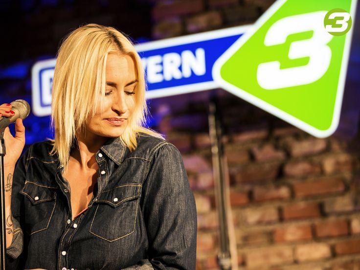 Sarah Connor im BAYERN 3 Liveclub.