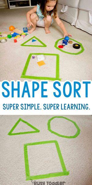 Shape Sorting Activity: Go Beyond Memorizing