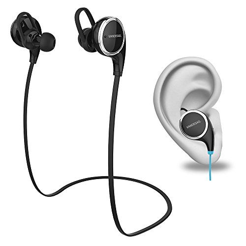 Sale Preis: VANDESAIL® Bluetooth Kopfhörer Test VS8 4.1 Wireless Sport Stereo Funkkopfhörer AptX Technologie und Mikrofon der Freisprechfunktion für iPhone 6/ 6 plus/ 5/ 5s ,iPad, Samsung Galaxy S4 S3 Note 3 und andere Handy Smartphone (BLACK). Gutscheine & Coole Geschenke für Frauen, Männer & Freunde. Kaufen auf http://coolegeschenkideen.de/vandesail-bluetooth-kopfhoerer-test-vs8-4-1-wireless-sport-stereo-funkkopfhoerer-aptx-technologie-und-mikrofon-der-freisprechfunkt