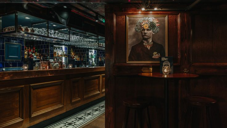 The Escapologist - Covent Garden - Bar - Based in and styled on the headquarters of the secret society that ran Victorian London - 90's music - cocktails - Pizza (with sweet pizzas for dessert) - Happy hours from 5-7pm