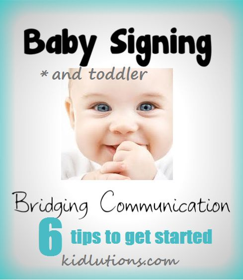 """""""Spin-Doctor Parenting"""": Bridging Communication: Babies and Sign Language"""