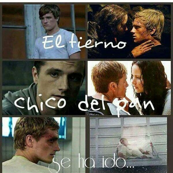 Peeta te fuiste y regresastes