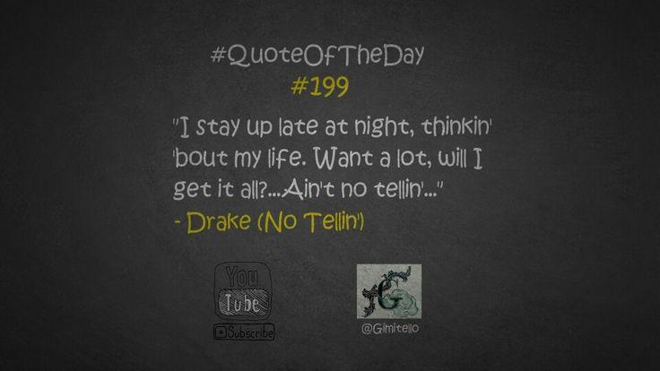 https://youtu.be/rliYcRI9Sbw YO! YO! YO!  #QuoteOfTheDay #199 ist online @YouTube. Viel spaß damit! #Gimitello #MeinWerkIstCompleted #NächsterStoppZukunft #Hustle  #Quote by #Drake #Views  Besteste Grüße aus meinem Gimitello-Headquarter!   #gimitello #gimitelli #hustle #focus #focusyourmindandchangeyourlife #mastery #wissen #motivation #leidenschaft #mission #mindset #lawofattraction #bethehardestworkerintheroom #entrepreneur #dowhatyoulove #whiteboard #philosophie
