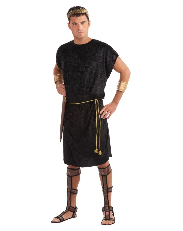55 best costumes images on pinterest costumes mens costumes roman costumes mens roman tunic costume halloween costume includes the mens black roman dude runic and the rope belt solutioingenieria Gallery