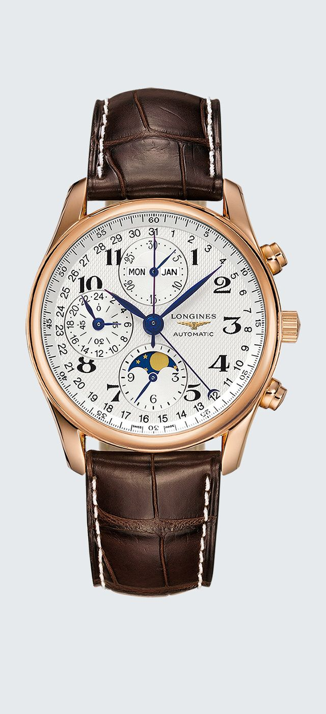 Watch zoom The Longines Master Collection L2.673.8.78.3
