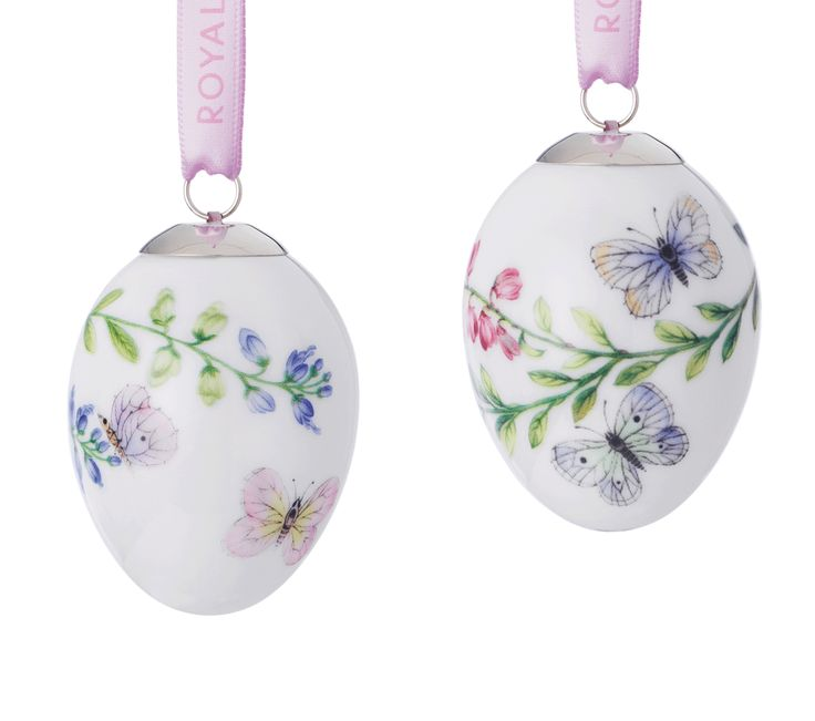 Spring Collection Easter Eggs - Butterflies, 2 pcs.