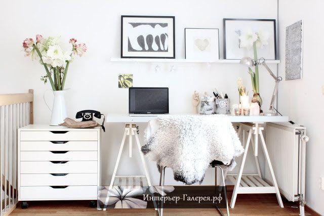 Интерьеры домашнего офиса, Идеи для интерьера домашнего офиса