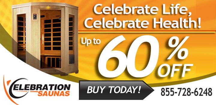 Infrared Sauna By Celebration Saunas™ - Home Infrared Saunas For Sale Online