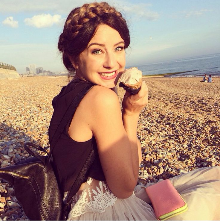Zoella - YouTube channel ❤️ Rocking this milkmaid braid made for the summer !