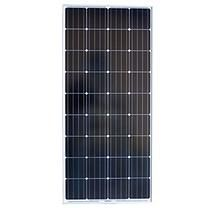 Grape Solar 180-Watt Monocrystalline PV Solar Panel for Cabins, RV's and Back-Up Power Systems