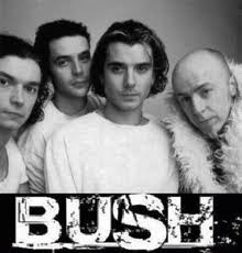 BUSH. Boy did I have a thing for Gavin Rossdale