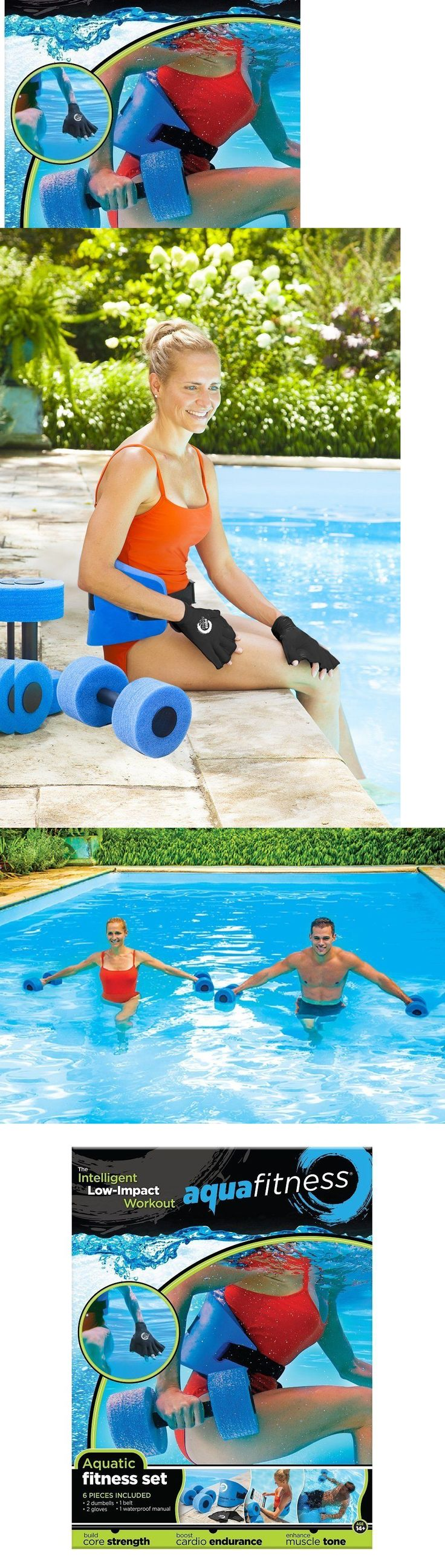 Aquatic Fitness Equipment 158922: Pool Workout Water Fitness Exercise Equipment Aerobic Dumbbells Aquatic 6 Pc Set -> BUY IT NOW ONLY: $45.05 on eBay!