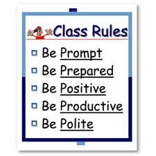 classroom rules for high school - Google Search