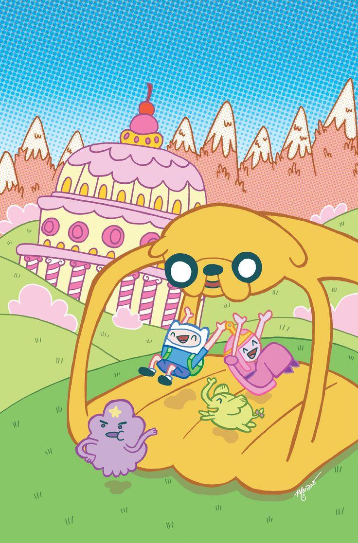 Ilustração Adventure Time - Eu Compraria! Blog