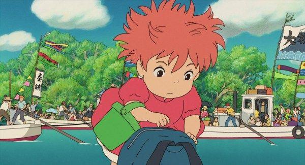 Ponyo 2008 Animation Screencaps In 2020 Ponyo Studio Ghibli Animation