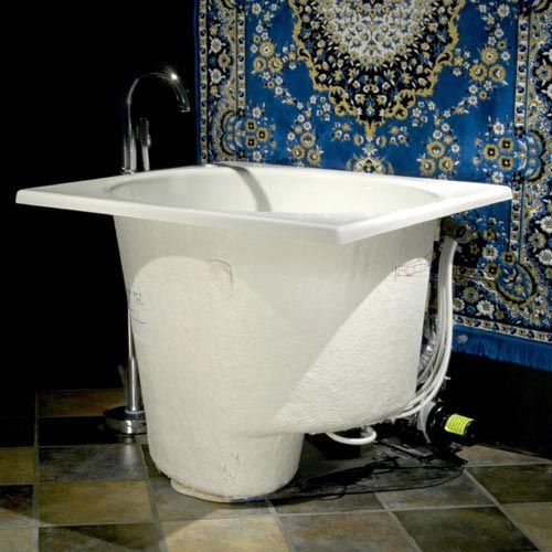 Japanese soaking tub drop in bathtub signature hardware - Soaking tubs for small bathrooms ...