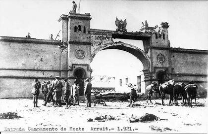 Monte Arruit en 1921